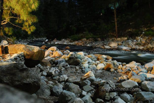 Tirthan River at Night, Tirthan Valley