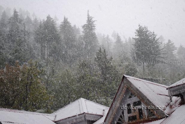 A Surprising Snowfall in Kinnaur Valley