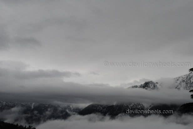 Clouds floating in Kalpa - Kinnaur Valley