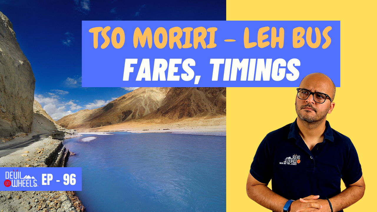 Is there any bus service from Leh to Tso Moriri Lake or Leh to Hanle Bus?